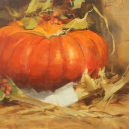 """Autumn Still Life ● 11"""" x 14"""" ● Oil ● SOLD"""