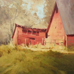 """View from the Apple Orchards ● 12"""" x 20"""" ● Oil ● SOLD"""