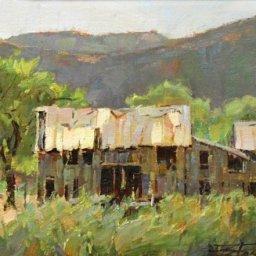 """Remembering Glendale ● 9"""" x 12"""" ● Oil ● $1800"""