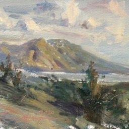 "Mount Nebo ● 6""  x 8"" ● Oil ● $325"