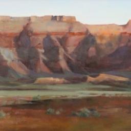 """Vermillion Cliffs ● 18"""" x 36"""" ● Oil ● $3100"""
