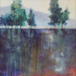 """Shimmering Fields ● 36"""" x 36"""" ● Oil ● SOLD"""