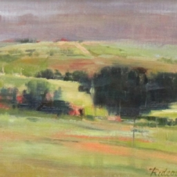 "Rolling Hills ● 8"" x 10"" ● Oil ● SOLD"