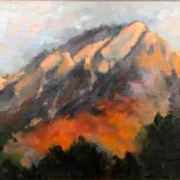 """Mt. Olympus ● 11"""" x 14"""" ● Oil ● SOLD"""
