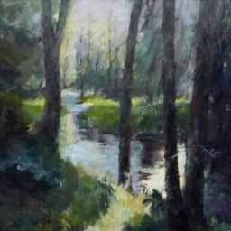"Spring Creek ● 20"" x 24"" ● Oil ● $2400"
