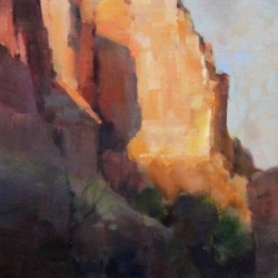 """Rock Solid ● 11"""" x 14"""" ● Oil ● SOLD"""