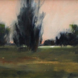 "Tree Scape ● 11"" x 14"" ● Oil ● SOLD"