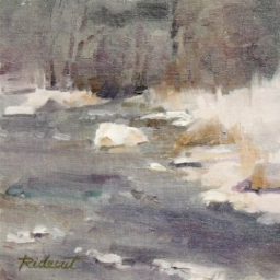 "Snowy River ● 8"" x 8"" ● Oil ● SOLD"
