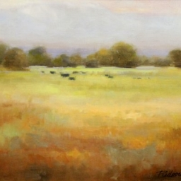 "Grazing ● 16"" x 20"" ● Oil ● SOLD"