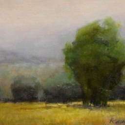 """Hush after Rain ● 11"""" x 14"""" ● Oil ● SOLD"""