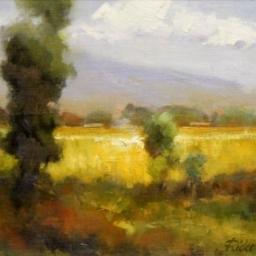 """Pasture ● 11"""" x 14"""" ● Oil ● SOLD"""