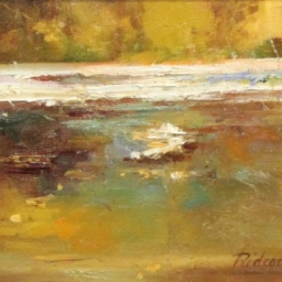 """Peace Like a River ● 8"""" x 10"""" ● Oil ● SOLD"""