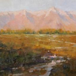 "Rose Colored Range ● 11"" x 14"" ● Oil ● SOLD"