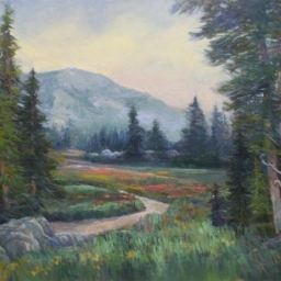 "Albion Basin ● 30"" x 39"" ● Oil ● $4500"
