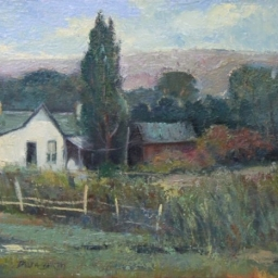 """Holladay Home ● 14"""" x 18"""" ● Oil ● SOLD"""