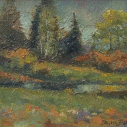 "Dingle Meadow ● 8"" x 10"" ● Oil ● SOLD"