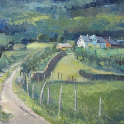 """Green Valley ● 16"""" x 20"""" ● Oil ● SOLD"""