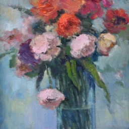 "Spring Bouquet ● 18"" x 24"" ● Oil ● SOLD"