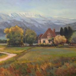 "Horseshoe Mountain ● 24"" x 30"" ● Oil ● $3600"