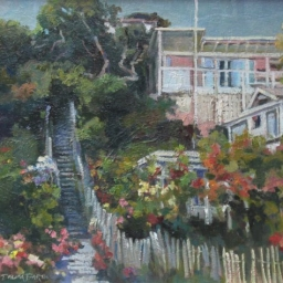 "Stairs to the Beach ● 16"" x 20"" ● Oil ● $1500"