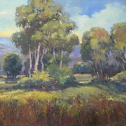 "Old Holladay Field ● 24"" x 30"" ● Oil ● $3800"