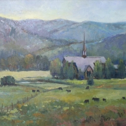 "Chapel in the Meadow ● 20"" x 24"" ● Oil ● SOLD"