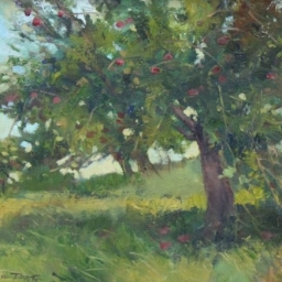 "Old Apple Orchard ● 12"" x 16"" ● Oil ● SOLD"
