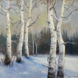 "A Winter Day ● 24"" x 30"" ● Oil ● SOLD"