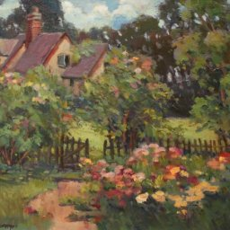 "Country Home ● 16"" x 20"" ● Oil ● $1600"