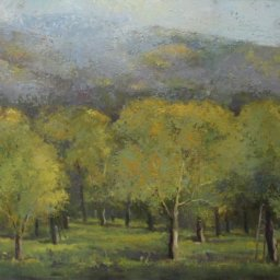 "The Orchard ● 20"" x 24"" ● Oil ● $2600"