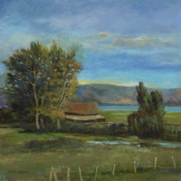 "Bear Lake View ● 24"" x 24"" ● Oil ● $2500"