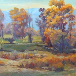 Midway Autumn Trees ● 30x40 ● Oil ● SOLD