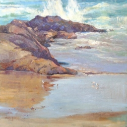 Crystal Cove Ocean Spray ● 24x24 ● Oil ● $2600