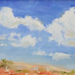 "Peekaboo Clouds ● 10"" x 12"" ● Oil ● SOLD"