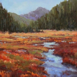 "Big Cottonwood ● 16"" x 20"" ● Oil ● SOLD"