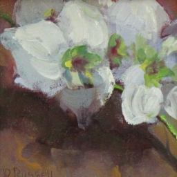 """Orchid ● 5"""" x 5"""" ● Oil ● SOLD"""
