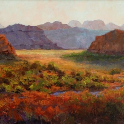 "Approaching Zion ● 30"" x 40"" ● Oil ● SOLD"