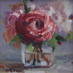 "English Rose ● 8"" x 8"" ● Oil ● SOLD"