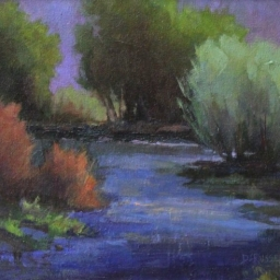 """Afternoon Bliss ● 8"""" x 10"""" ● Oil ● SOLD"""