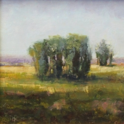 """Valley Trees ● 8"""" x 8"""" ● Oil ● SOLD"""
