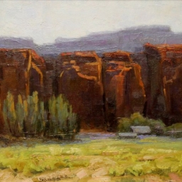 "Angel Canyon ● 12"" x 12"" ● Oil ● SOLD"