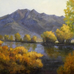 """Mt. Olympus Afternoon ● 24"""" x 30"""" ● Oil ● SOLD"""