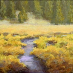 "Silver Fork Spring ● 12"" x 12"" ● Oil ● SOLD"