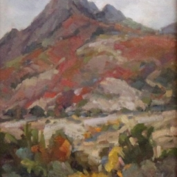 "Mt. Olympus in October ● 9"" x 12"" ● Oil ● SOLD"