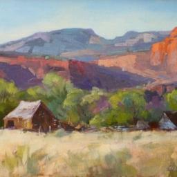 "Below the Cliffs Torrey Utah ● 12"" x 16"" ● Oil ● SOLD"