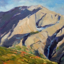 "Mount Olympus ● 14"" x 18"" ● Oil ● $1200"