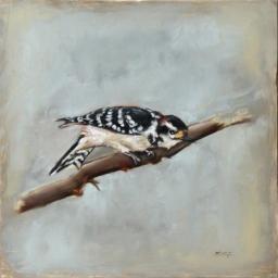 """Birds II ● 10"""" x 10"""" ● Oil ● SOLD"""