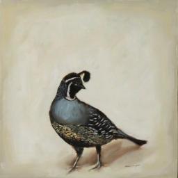 """Birds III ● 10"""" x 10"""" ● Oil ● SOLD"""