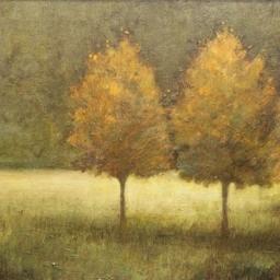 """Brandon Cook ● Orange Trio ● 16"""" x 20"""" ● Oil ● SOLD"""