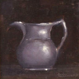 "Kitchen Pitcher ● 6"" x 6"" ● Oil ● $350"